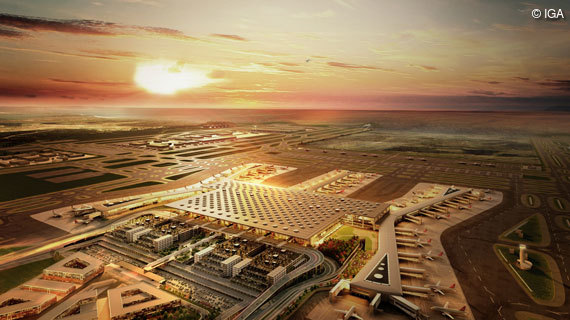 Neuer Airport in Istanbul
