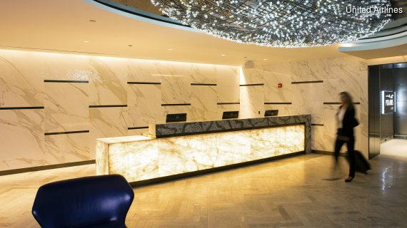 United Polaris Lounge Chicago International Airport